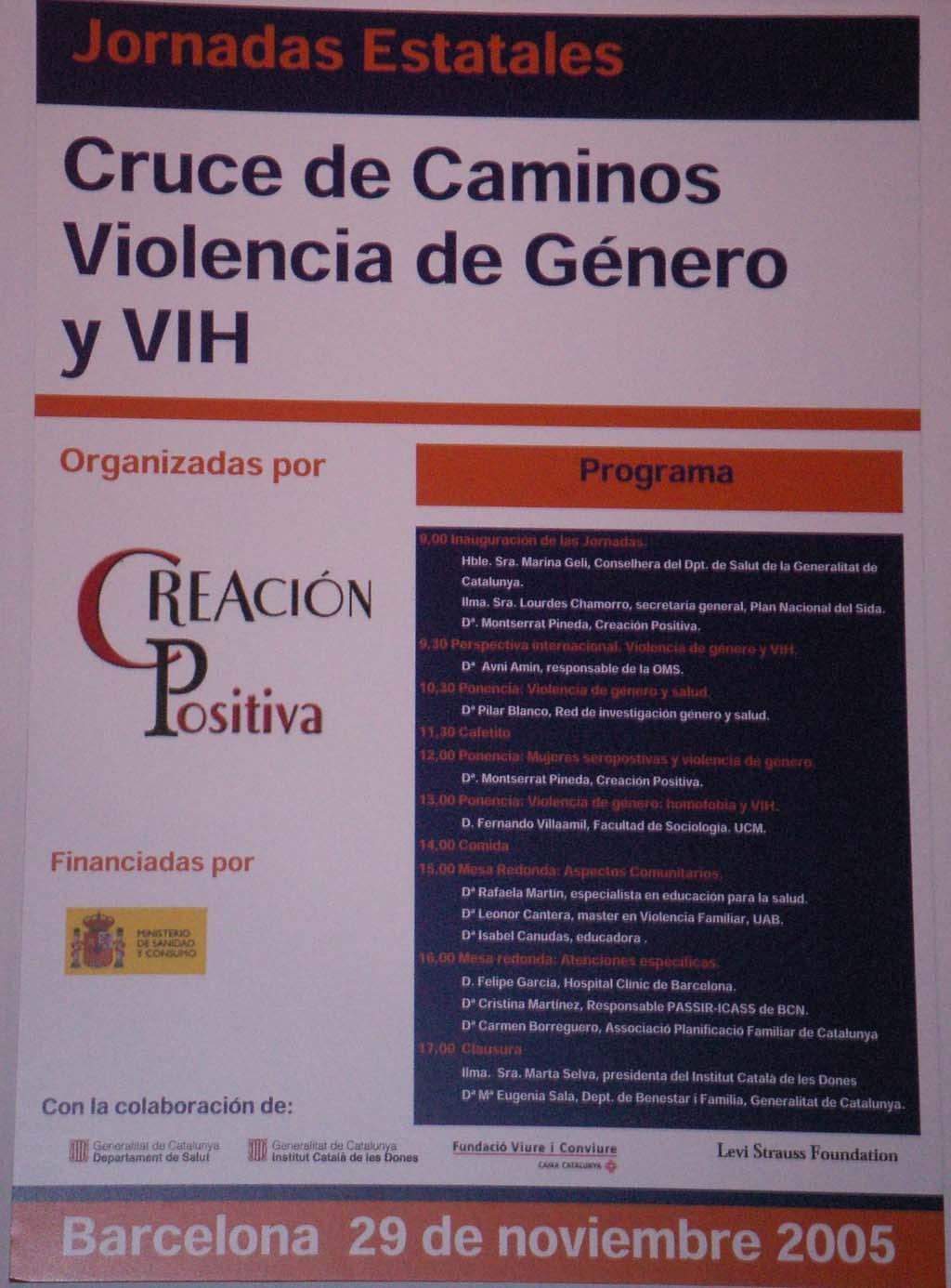 Jornadas Estatales sobre Violencia de Género y VIH